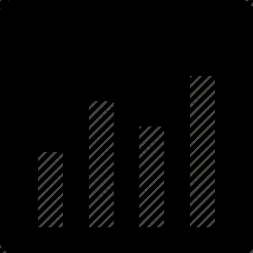 bar chart, bar graph, business graph, graph, statistics icon