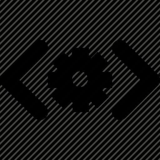 development, div, html, programming, setup icon