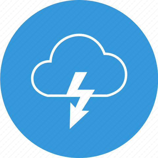 cloud, cloudy, download, lightning, weather icon