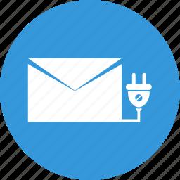 e-mail marketing, mail, marketing icon