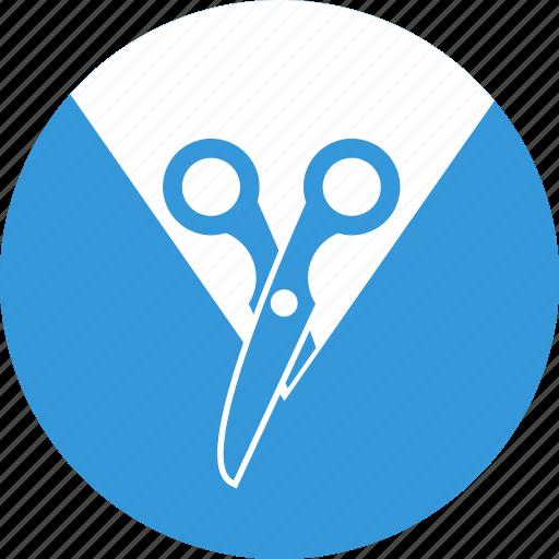 content, content management, cut, management, scissors, tool icon