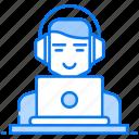 computer user, freelancing, internet user, office work, online employees