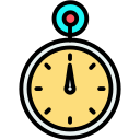 clock, compass, smartwatch, timer, watch icon