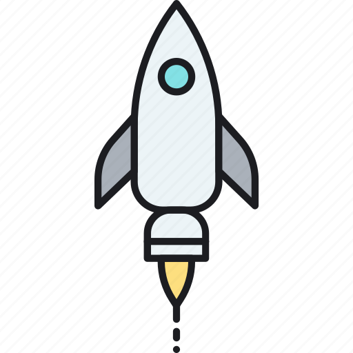 business, campaign, launch, rocket, startup icon