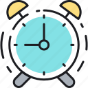 alarm, campaign, clock, notification, schedule, time, timing icon