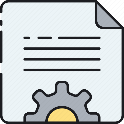 content, document, file, management, seo, system icon