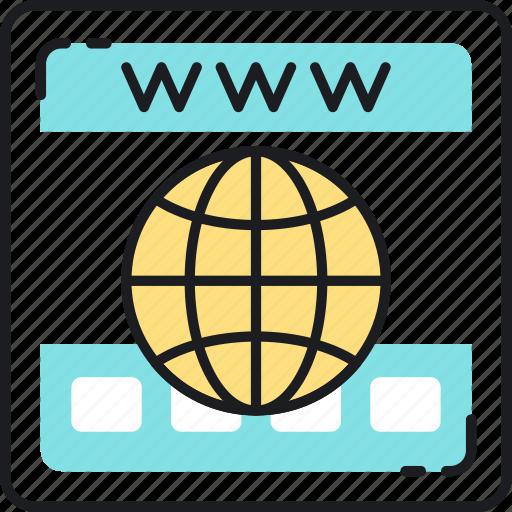 domain, name, registration, seo, web, website, www icon