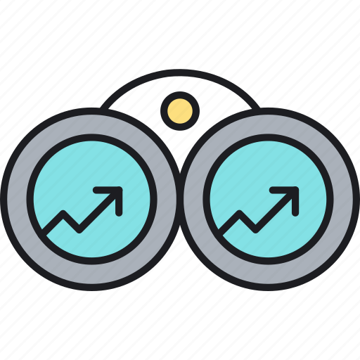 market, popular, spot, topic, trend, trending, watch icon