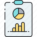 analysis, analytics, chart, graph, report, seo, statistics icon