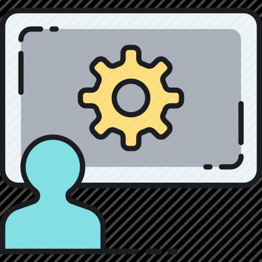 consultation, hubspot, seo, training icon