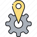 local, location, seo icon