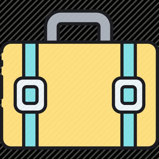 portfolio, suitcase icon