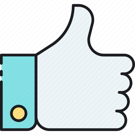finger, gesture, integration, like, social, thumbs up icon