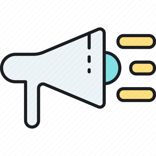 advertising, loudspeaker, marketing, seo, viral, web icon