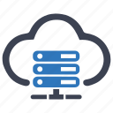 cloud, hosting, hosting server, services, web hosting icon