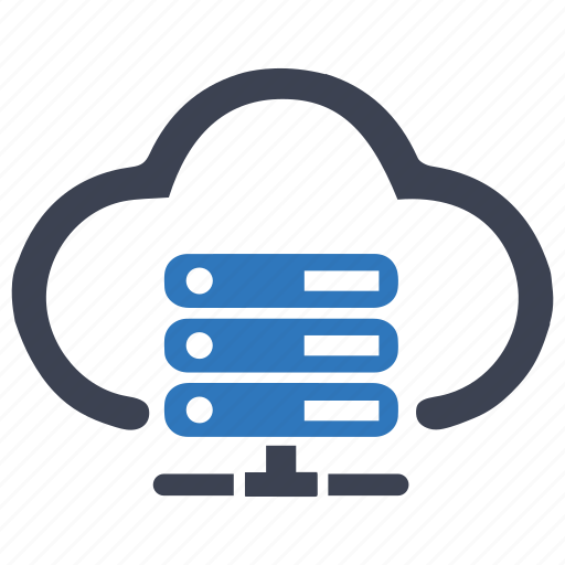 cloud, hosting, hosting server, services, web hosting icon