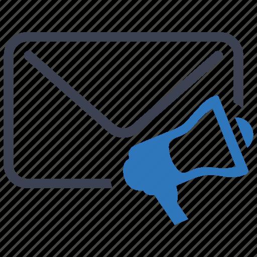 advertising, communication, email, marketing icon