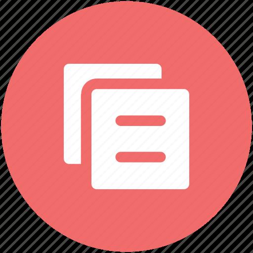 archive, copy, copy paste, layout, manuals, paper icon