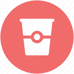 caffeine, coffee, coffee cup, disposable cup, paper cup icon