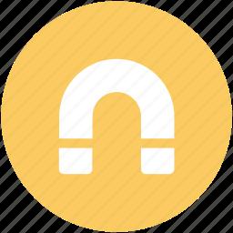 attraction, horseshoe magnet, magnet, power symbol, u-shaped icon