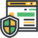 information security, internet site, online security, security shield, website security