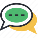 babbling, chat bubbles, chatting, online chatting, talk