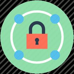 digital lock, lock, padlock, password, privacy, security icon