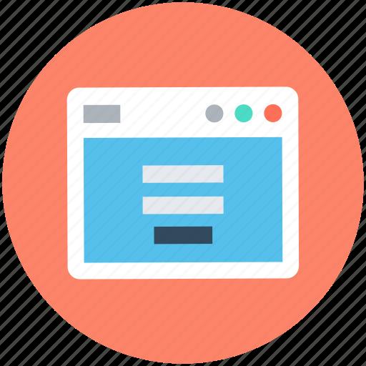 login, login display, login page, login screen, user account icon