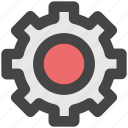 cog, gear, options, setting, wheel icon