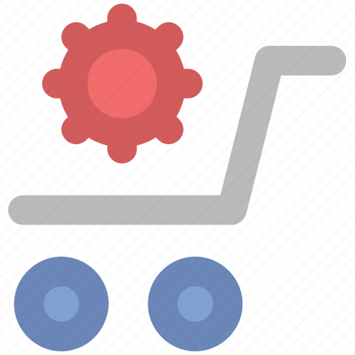 ecommerce, online shopping, shopping cart, supermarket, trolley icon
