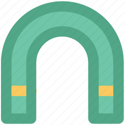 attraction, horseshoe magnet, magnet, power symbol, u-shaped icon