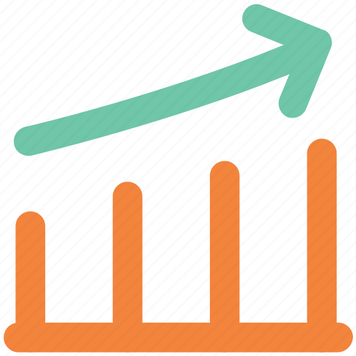 chart, diagram, figure, graph, growth chart icon