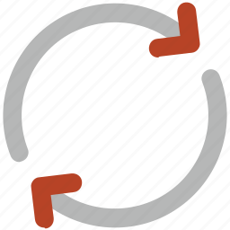 initializing, loading arrows, processing, refresh, sync, synchronization icon