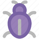 animal, bug, bug sign, firebug, ladybird, ladybug, virus bug icon