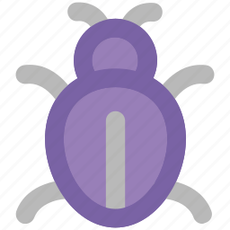 animal, bug, bug sign, firebug, ladybird, ladybug, virus bug icon