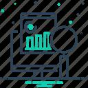 analysis, chart, data, diagram, graph, marketing, web analysis icon