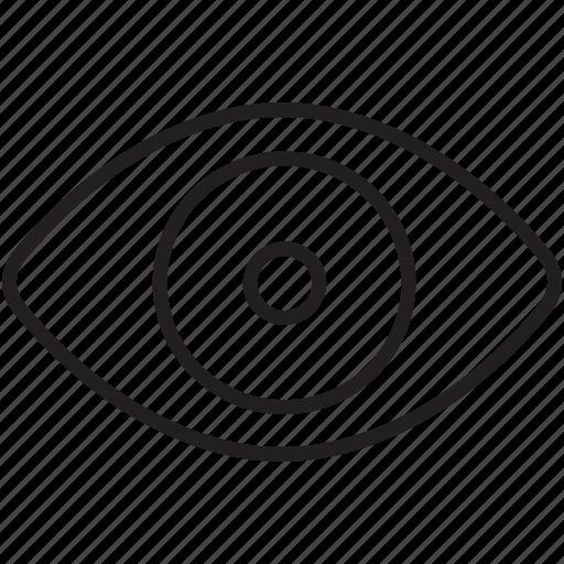 design, eye, look, retina, seo, sight, web icon