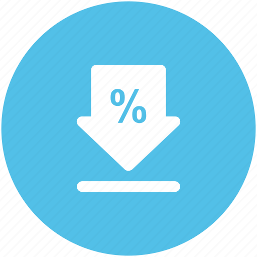 data transmission, down arrow, download, downloading, transfer data icon