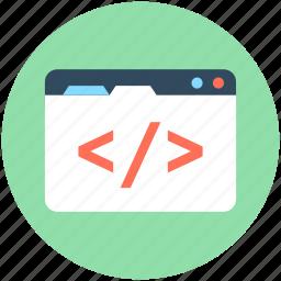 div tag, html, html coding, html div, web development icon