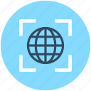 global, globe, internet surfing, seo, url icon