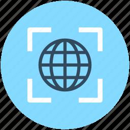 global, globe, internet surfing, seo, url icon