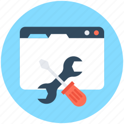 screwdriver, settings, spanner, web configure, web preferences icon
