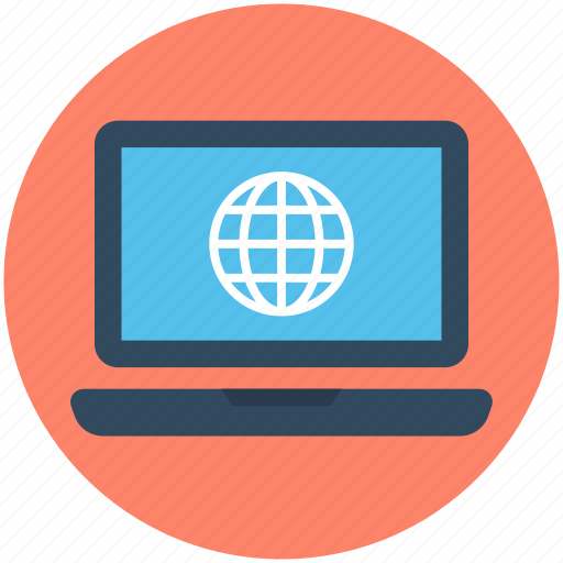 earth grid, globe, internet connection, internet grid, monitor icon