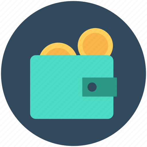 billfold, coins wallet, currency, money, wallet icon