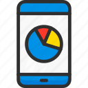 chart, diagram, mobile, phone, plan, seo, stats