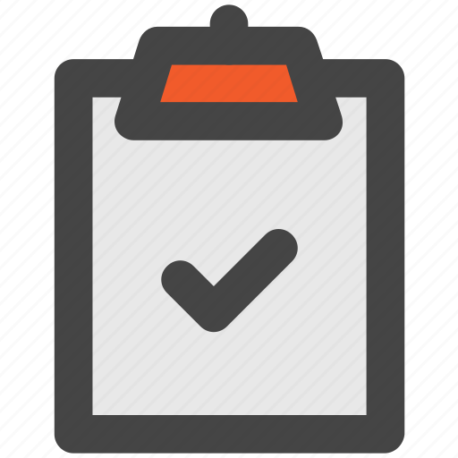 approved, certified, check, checkbox, clipboard icon