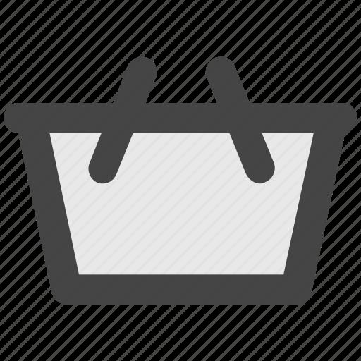 basket, hamper, purchase, shopping, shopping basket icon