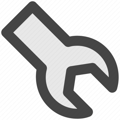 configuration, garage tool, repair tool, spanner, wrench icon