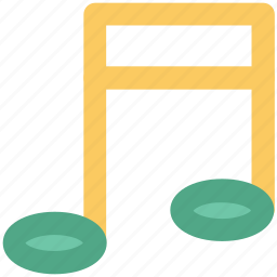 music note, note, sound, sound note, volume note icon