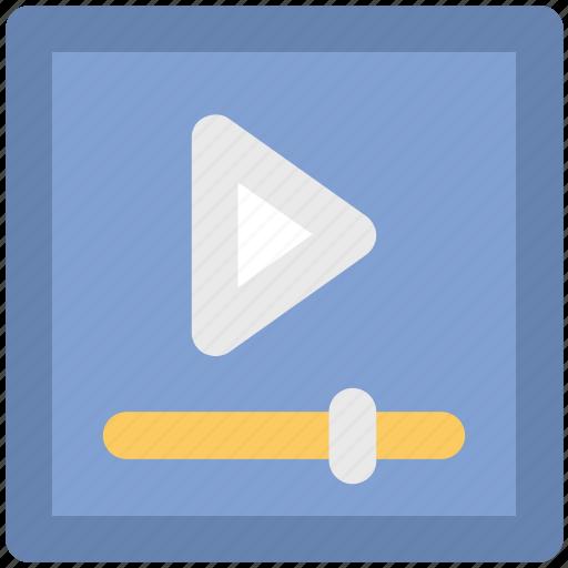 media, media player, monitor, multimedia, video player icon